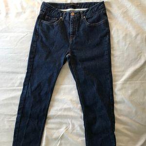 Victoria Beckham Slim Fit Mid Rise Jeans